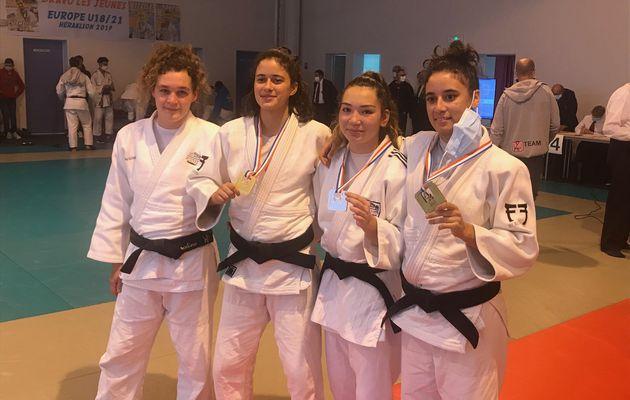Championnats de France de Jujitsu : 4 finistériennes sur le podium