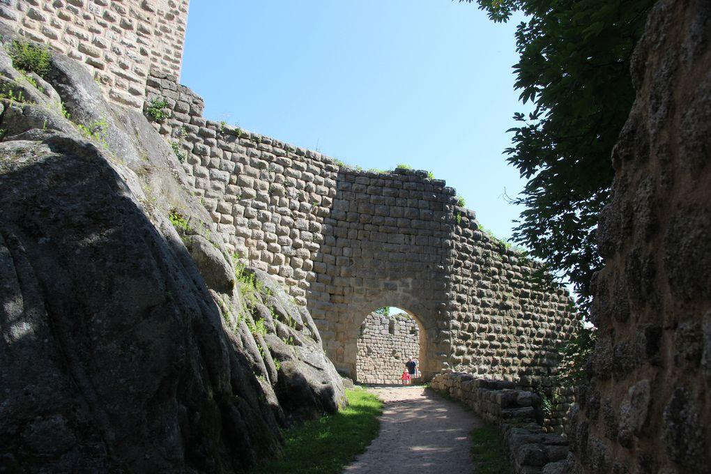 Dambach-la-Ville : chapelle Saint Jean Baptiste, chapelle Saint Sébastien ,château du Bernstein