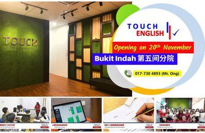 Bukit Indah 英语中心 | Part Time English Courses
