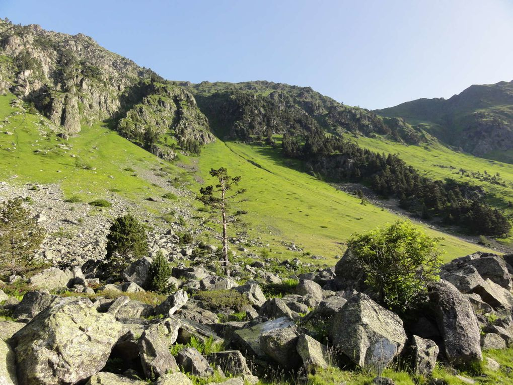Sortie des Pyrénées du 23 juin au 30 juin 2012
