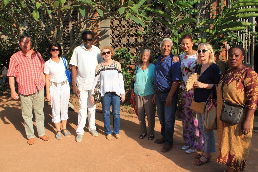 Photos visite de la famille Gouandjika.