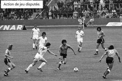 Coupe du Monde 1974 en Allemagne de l'ouest, Groupe A: Allemagne de l'est - Argentine