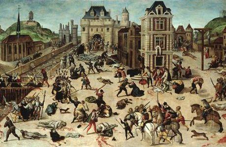 Activité 5ème # Les guerres de religion