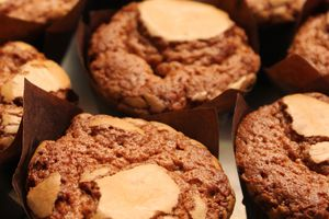 Muffin chocolat au lait speculoos whisky