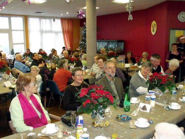 Goûter de Noël au Belvédère à Algrange en 2010