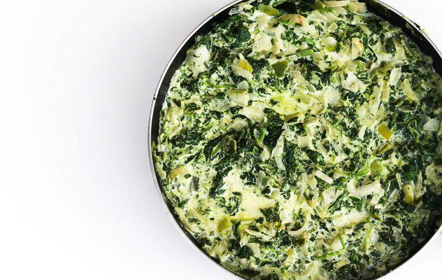 Légumes sauce crémeuse