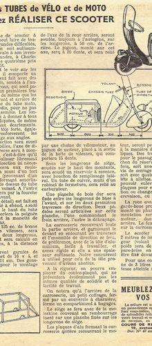 Scooter R.Alexandre (FR) - 1949