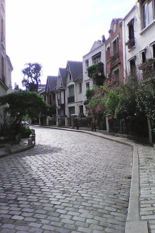 Montmartre à la mi-mai