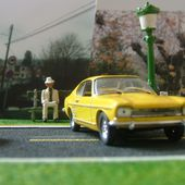 FORD CAPRI 1969 JAUNE SOLIDO 1/43 - car-collector.net