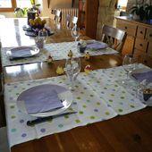 TABLE DE PAQUES...et TUTO INSIDE... - petits potins de chez moi