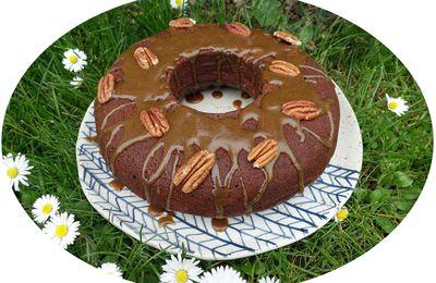 Brownie à la cacahuète, noix de pécan & caramel - IG Bas