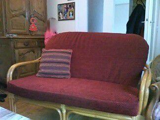 Rénovation coussins de canapé et fauteuil