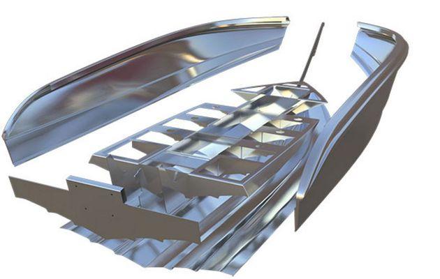 Hydro Hull, une vraie révolution dans la construction de bateaux en aluminium
