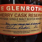 THE GLENROTHES Sherry Cask Reserve - Passion du Whisky
