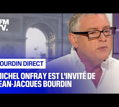 Michel Onfray - Bourdin Direct (BFMTV RMC) - 16.09.2020