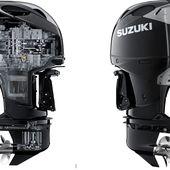 350cv, le nouveau moteur hors-bord V6 DF350A de Suzuki Marine à 2 hélices en contre-rotation - ActuNautique.com