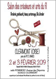 Salon des créateurs et Arts du fil - Clermont (60) - [Salon]