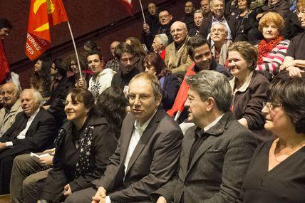 """Meeting: """"Nice, l'Humain d'abord"""" (photos)"""
