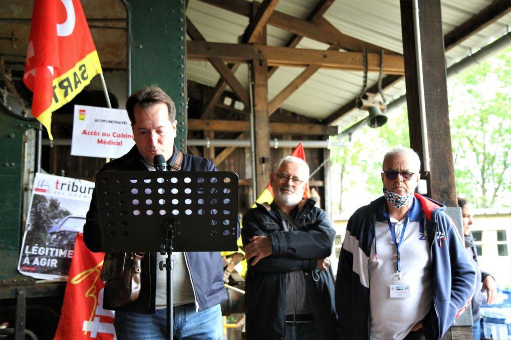 Congrès CGT des Cheminots du Mans à la Transvap 27.28.05.2021