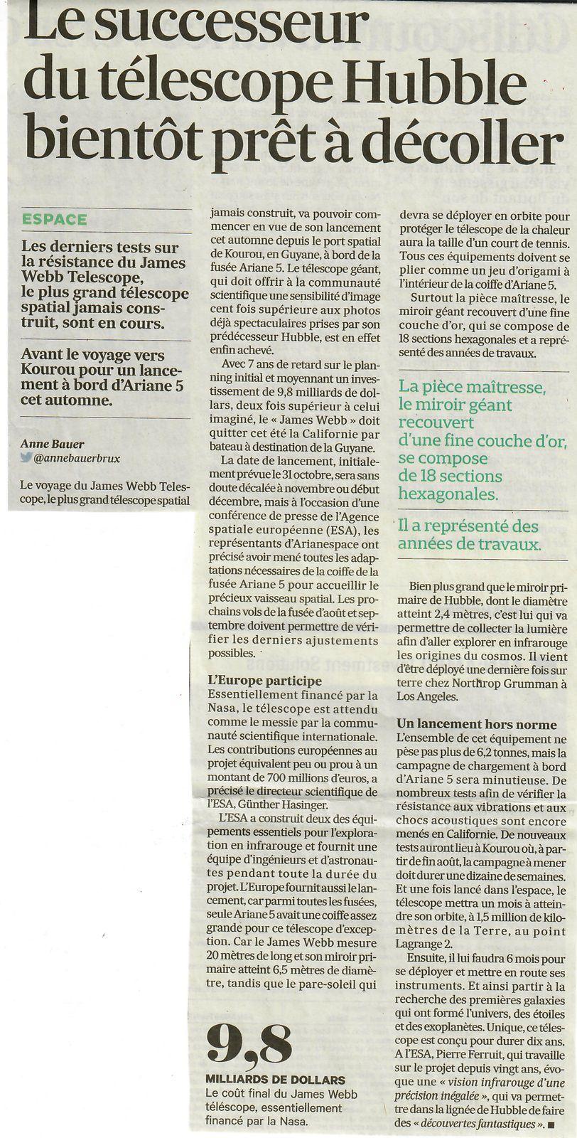 Vu et lu dans Les Echos du 02/06/21