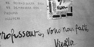 Mercier et les voix de mai 68