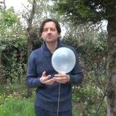 Ballon en élévation - élévation