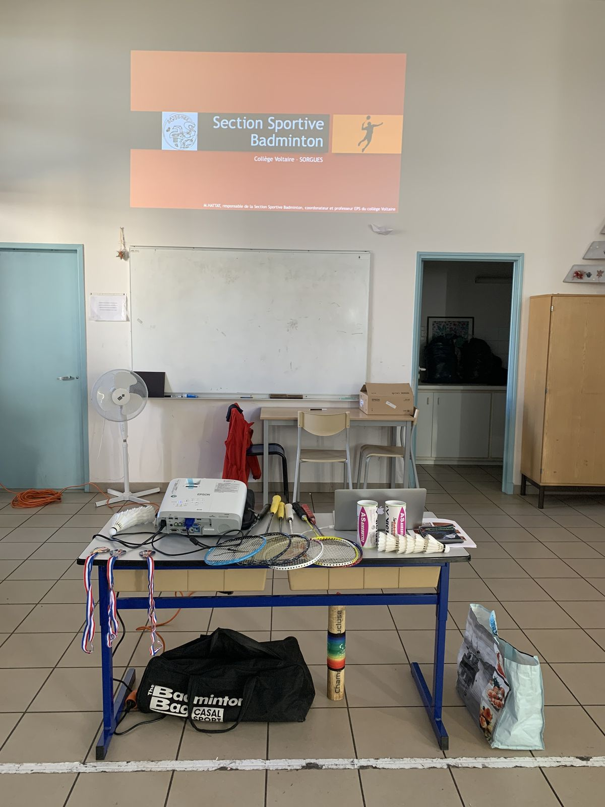 Section Sportive Badminton : présentation/inscription