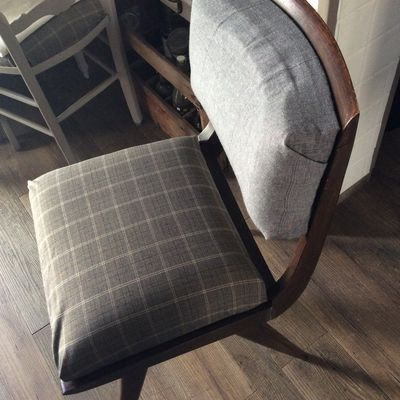 Relooking d'une chaise chinée