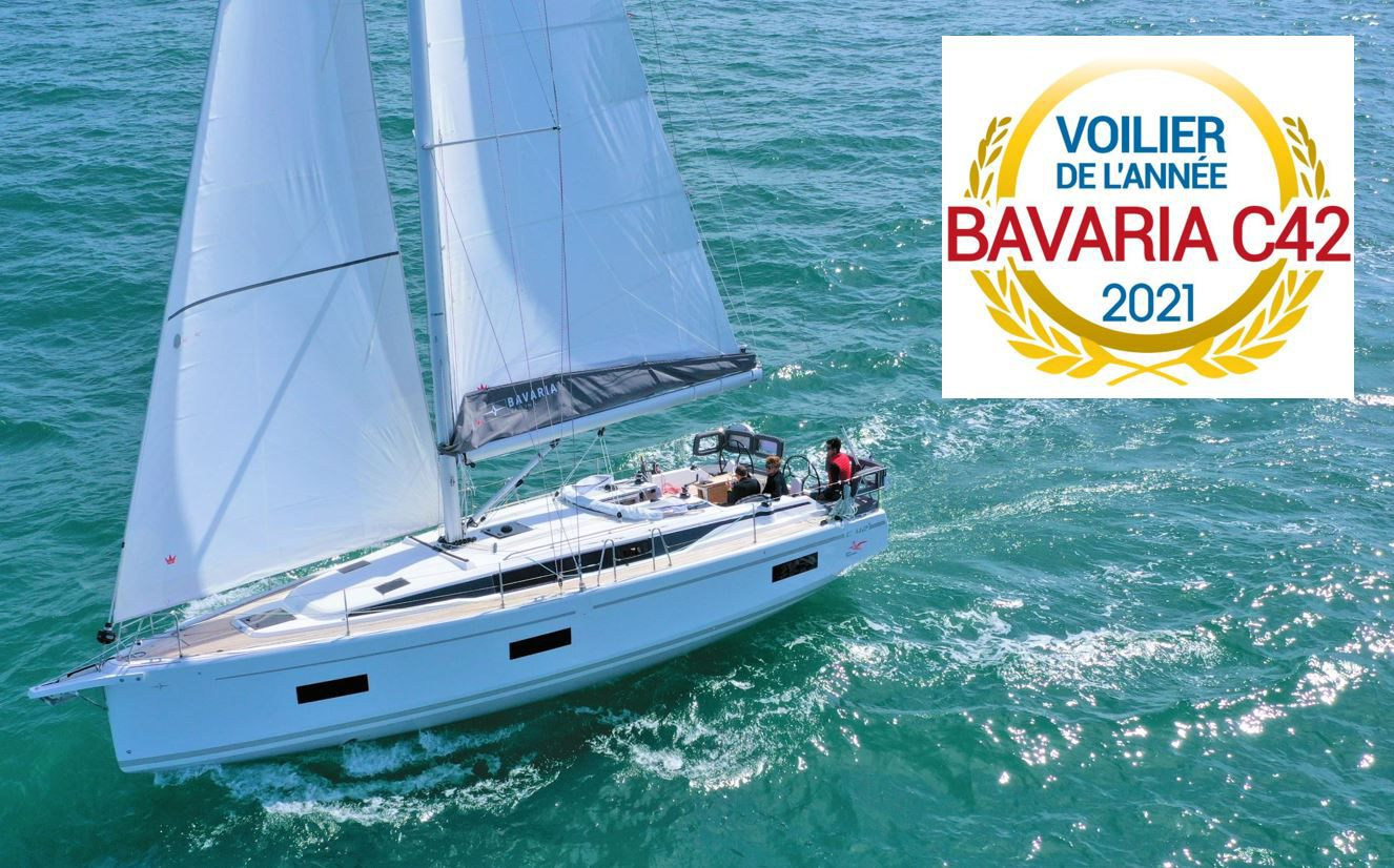 Bavaria C42 elected Sailing Yacht of the Year 2021 in France