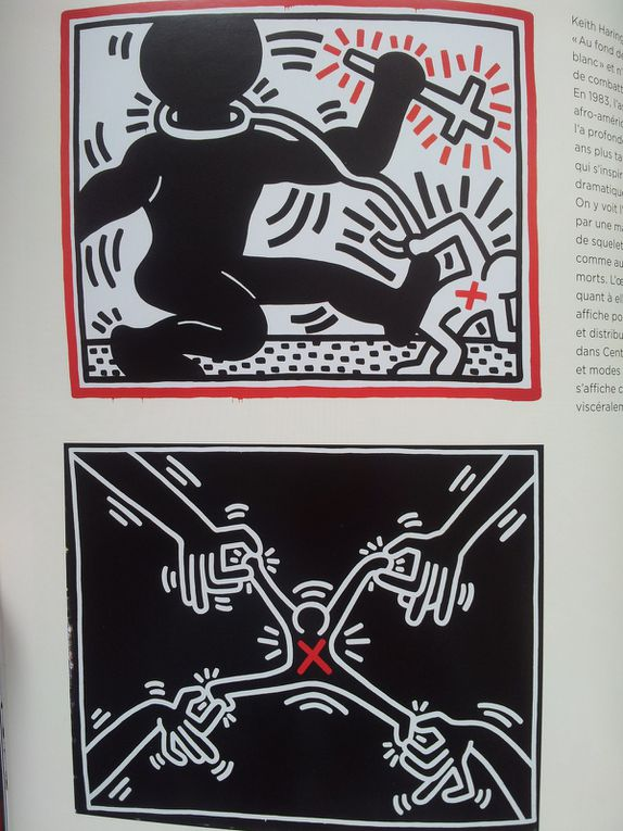 Magazine Beaux-Arts Hors-Série. Keith Haring. The Political Line, 2013.(pages 24-26)