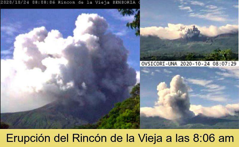 Rincon de La Vieja - 24.10.2020 / 8:07 am-8:08 am - Doc. Ovsicori