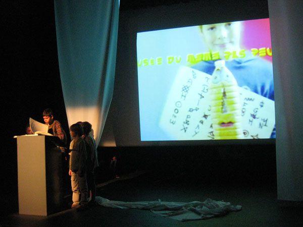 Ateliers théâtre 2008-2009 avec Andréas Christou .