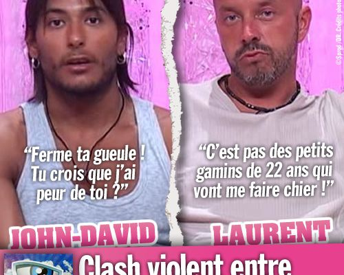 Secret Story 2 : Clash violent entre John-David et Laurent !