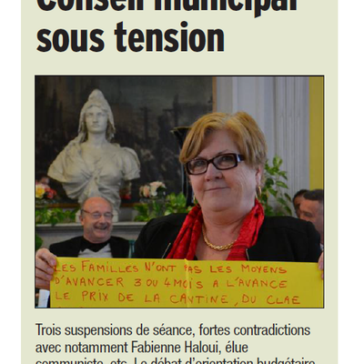 Conseil municipal d'Orange : sous tension