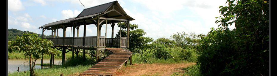 Guyane : le village de Kaw