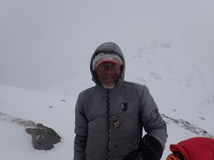 Ski de rando au Lofoten - épaule du Blatinden