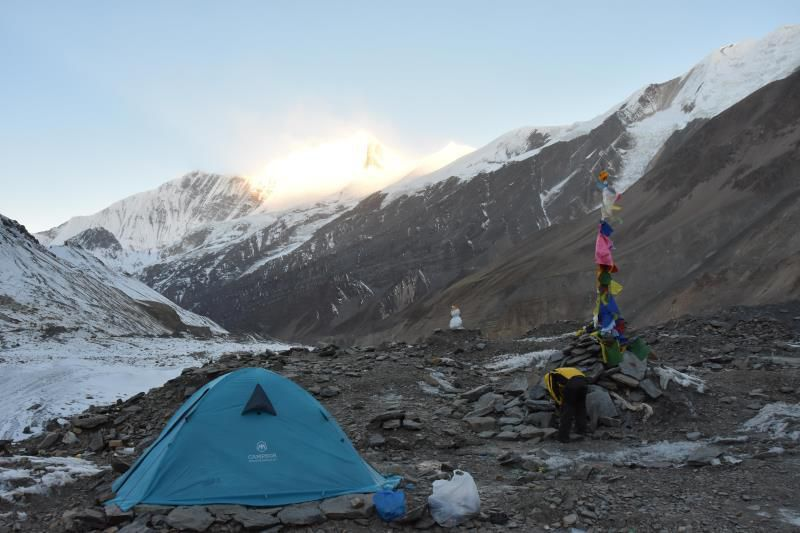 Camp de base du Dhaulagiri