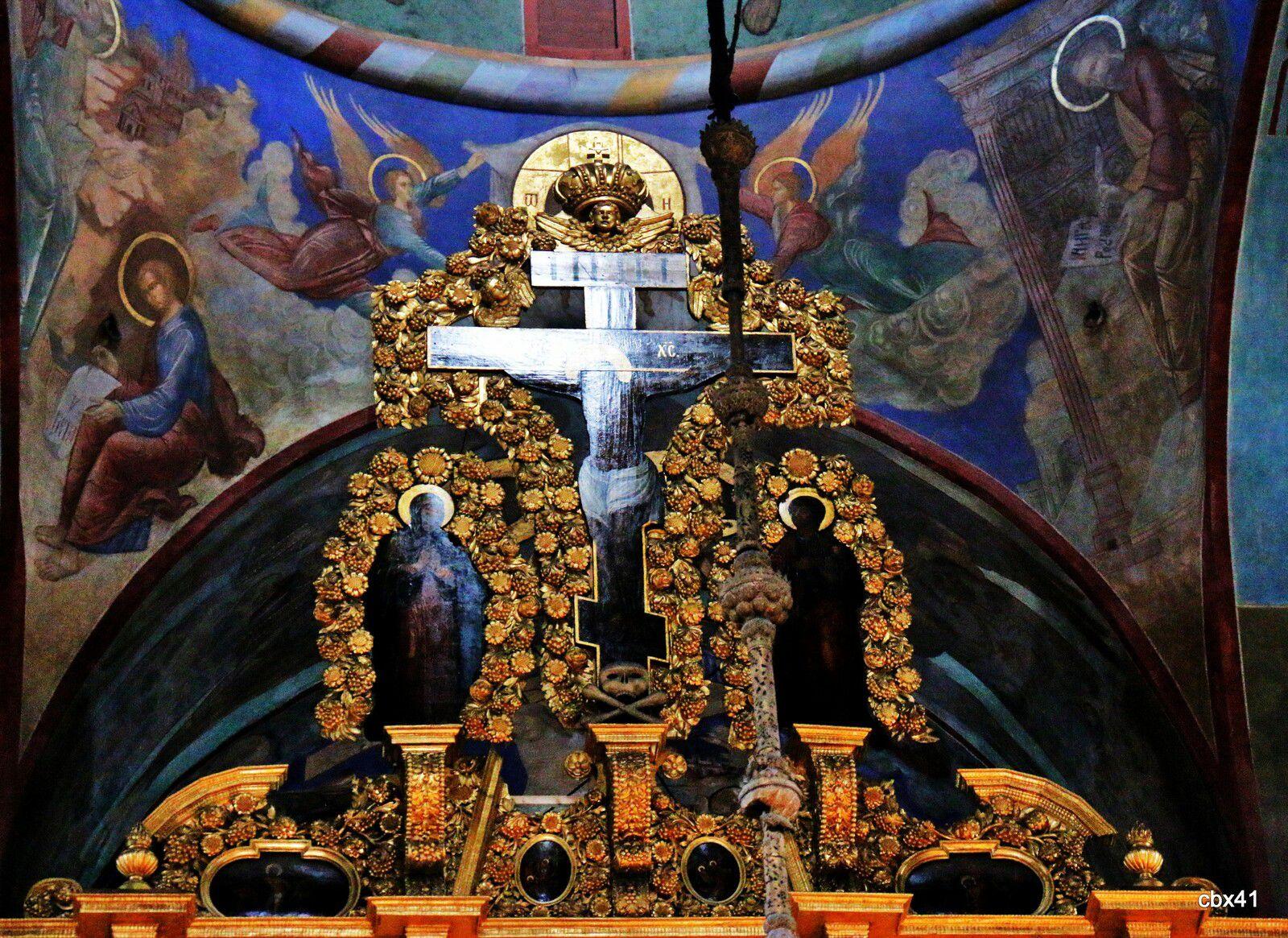 Intérieur de la Cathédrale de la Trinité de Serguiev Possad