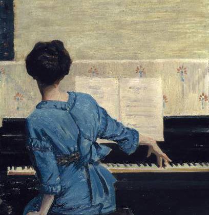 Nocturne pour piano et violon - Lili Boulanger