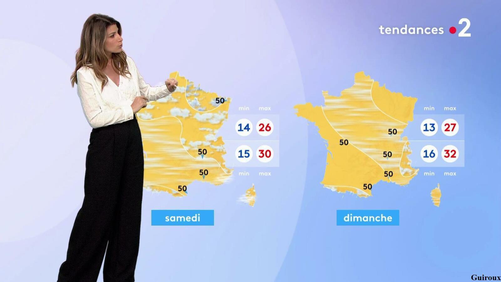Chloé Nabédian 10/06/2021 Journaux météo du soir
