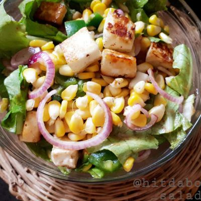 COTTAGE CHEESE CORN SALAD