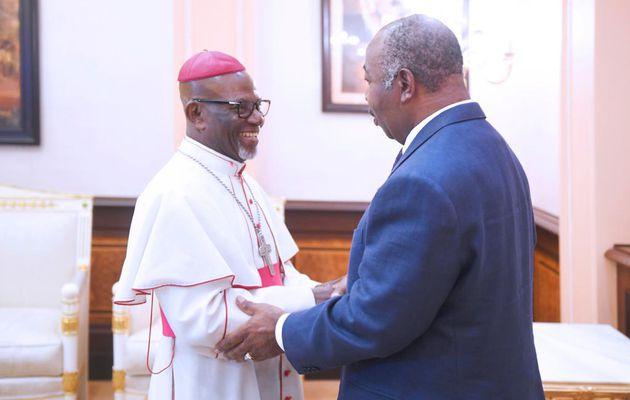 Le Président Ali Bongo Ondimba reçoit les leaders réligieux