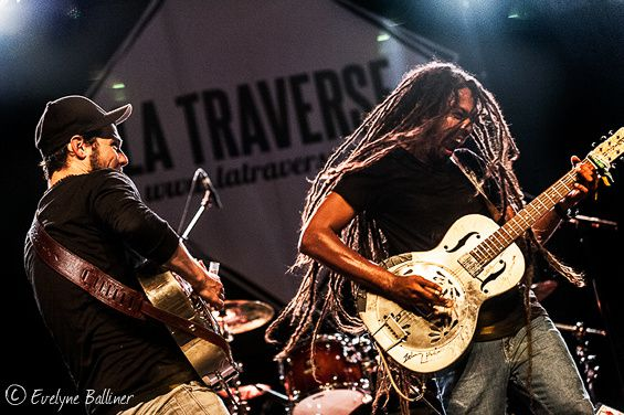 "Festival ""Blues de Traverse"" Shakura S'Aïda et the Two"