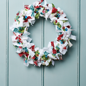 Rag Wreath - Free sewing patterns - Sew Magazine