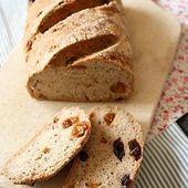 Pain coco - sarrasin - abricots secs { sans gluten, sans lait, sans oeufs} - Allergique Gourmand