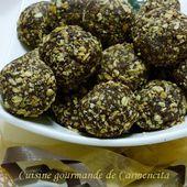 Truffes croustillantes au Muesli et sésame - Cuisine gourmande de Carmencita