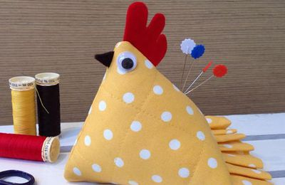 Poules berlingot: tutoriel