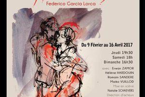 NOCES DE SANG d'après Federico Garcia Lorca A LA FOLIE THEATRE !