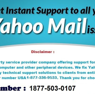 Online Yahoo Mail Technical Support Number for Login Issues 1877-503-0107