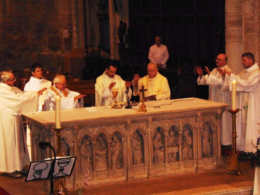 vendredi 28 juin 2019, 60 ans de sacerdoce des Père Jean DUMAS et Daniel ALLEZINA